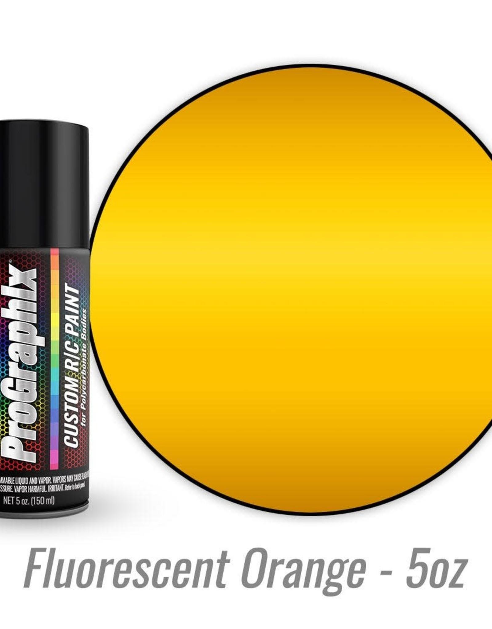 TRAXXAS Body paint, fluorescent orange (5oz)