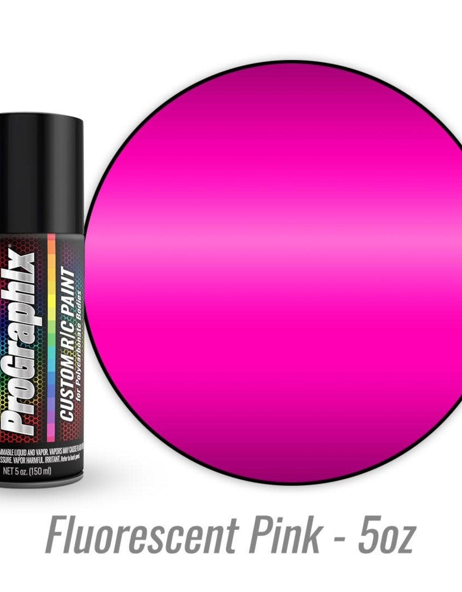 TRAXXAS Body paint, fluorescent pink (5oz)