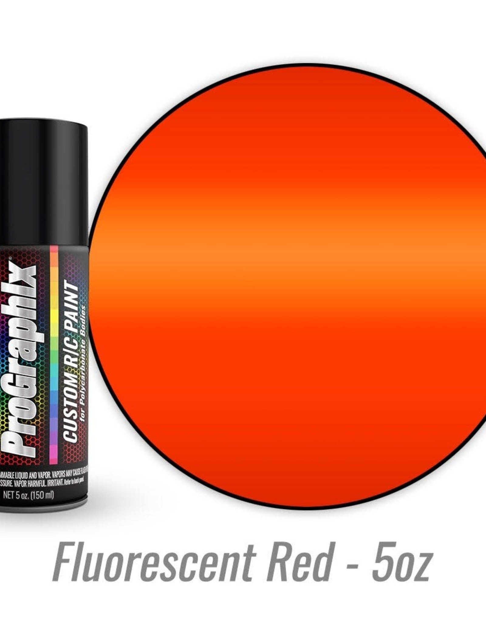 TRAXXAS Body paint, fluorescent red (5oz)