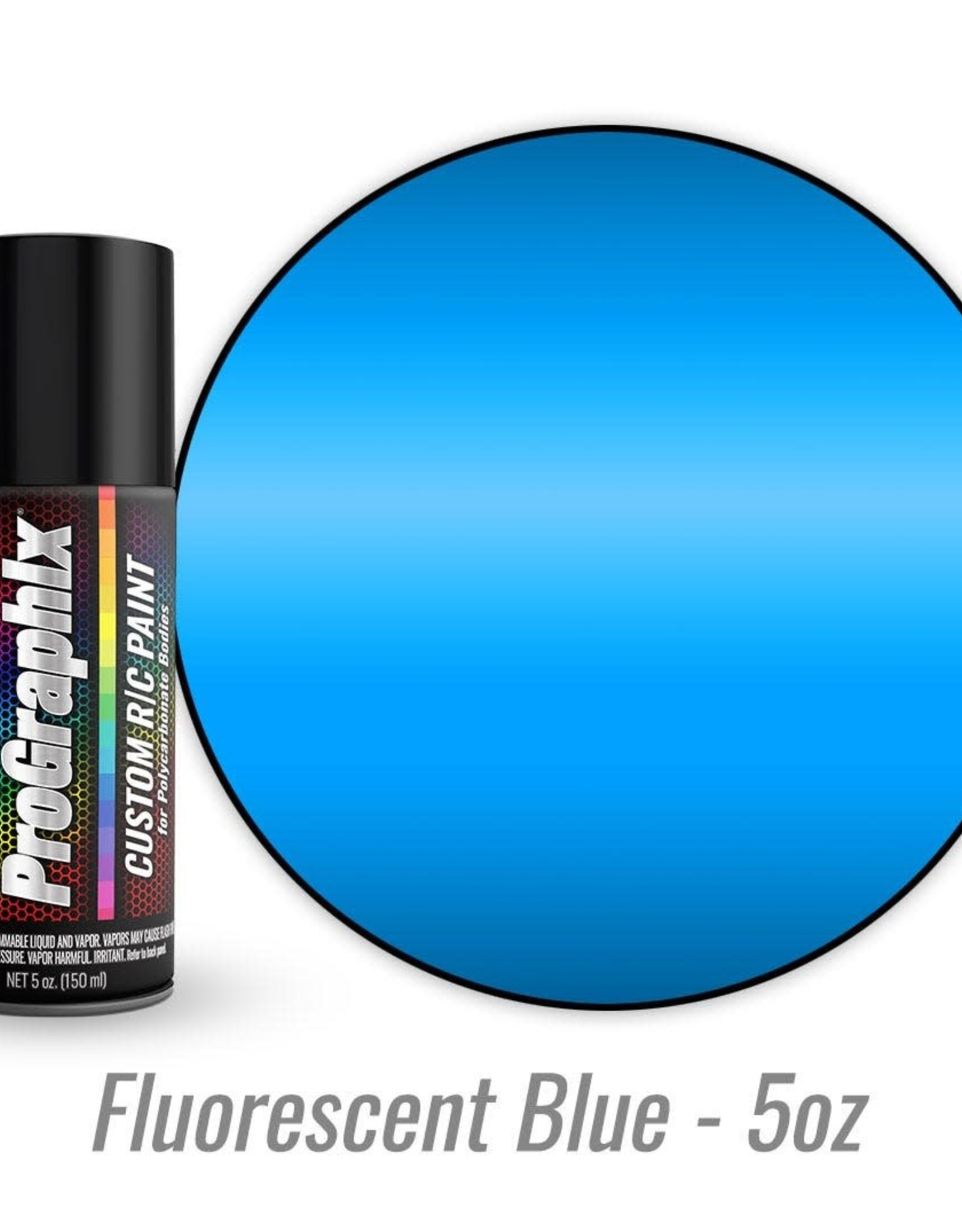 TRAXXAS Body paint, fluorescent blue (5oz)