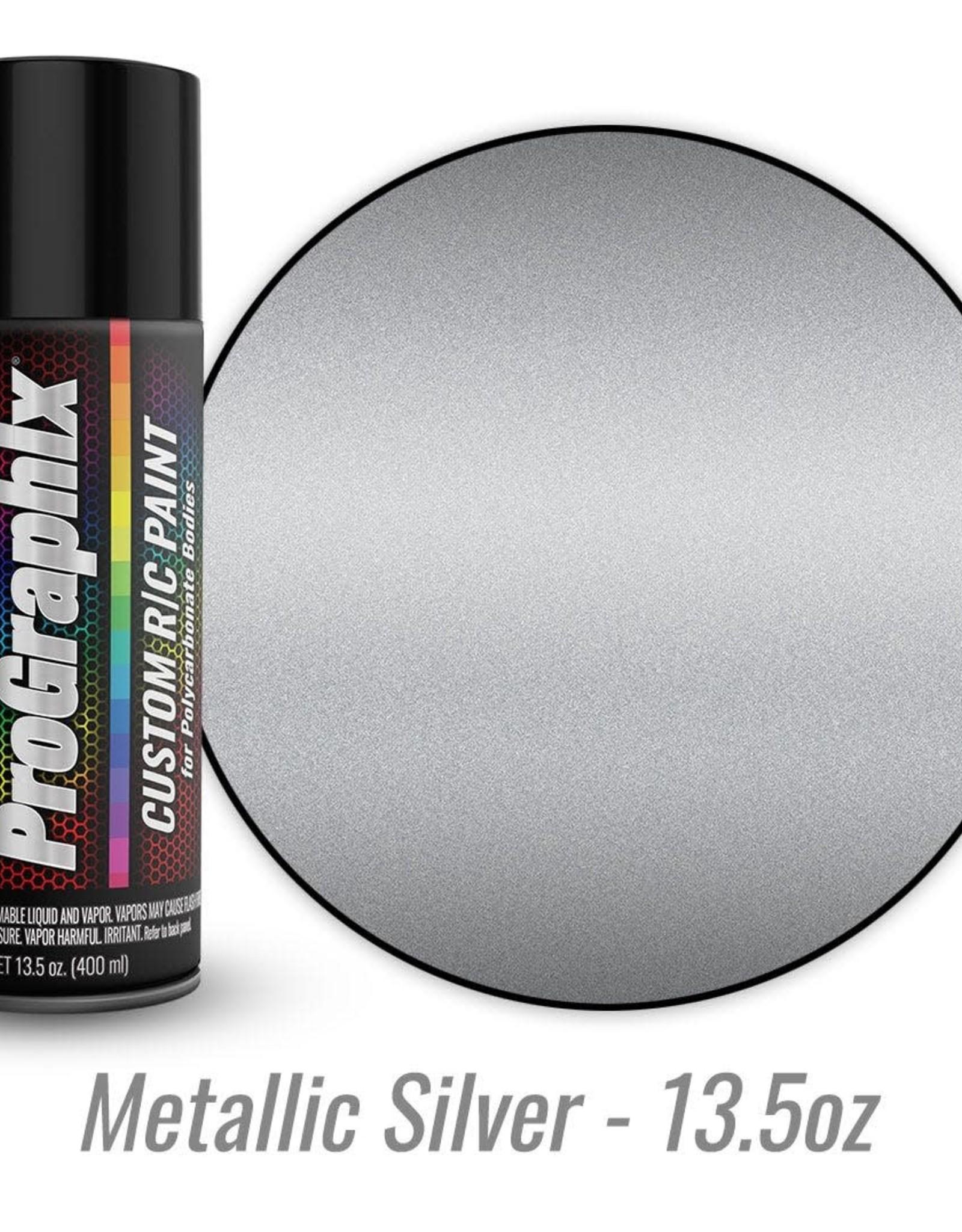 TRAXXAS Body paint, metallic silver (13.5oz)