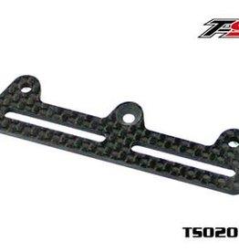 SAXO Carbon fiber servo fixed plate 2.5MM(TS02078)