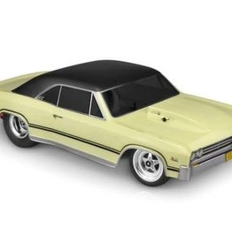 JConcepts JConcepts 1967 Chevy Chevelle Street Eliminator Drag Racing Body (Clear)