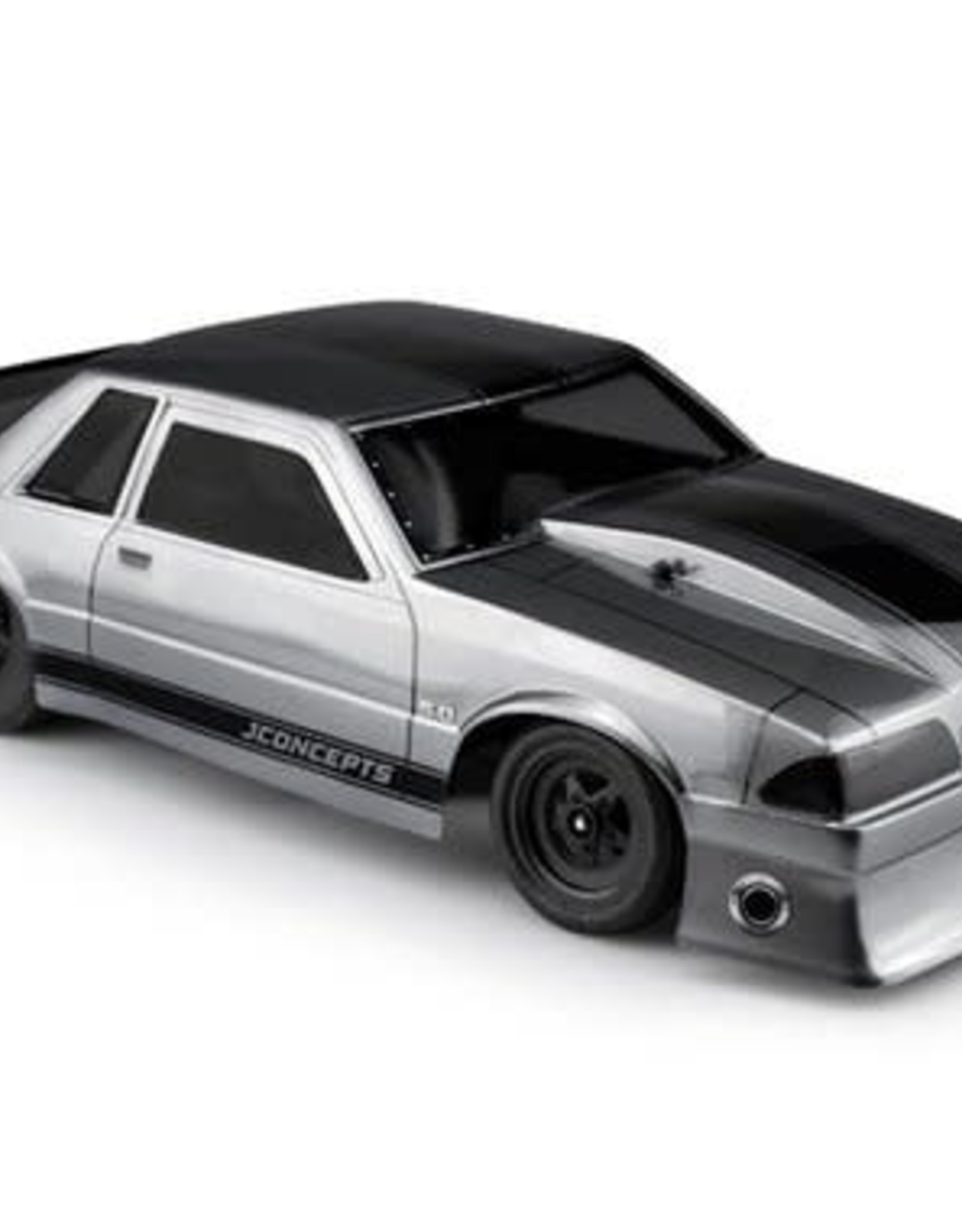 JConcepts JConcepts 1991 Ford Mustang Fox Body Street Eliminator Drag Racing Body (Clear)