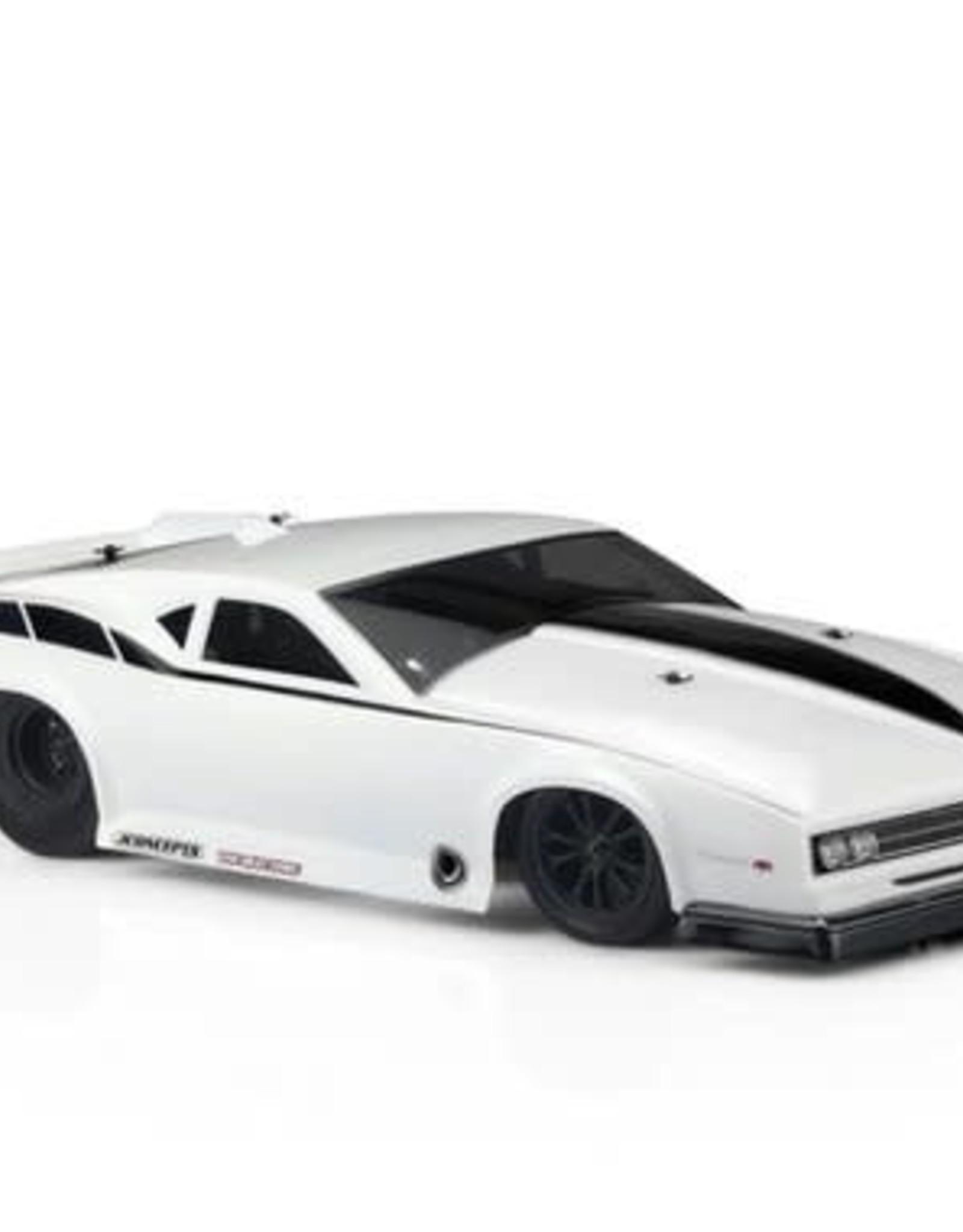 "JConcepts JConcepts ""The Machine"" 1968 Pontiac Firebird Pro 1/10 Drag Racing Body (Clear)"
