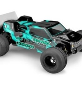 JConcepts F2 - Rustler VXL Clear Body with Rear Spoiler