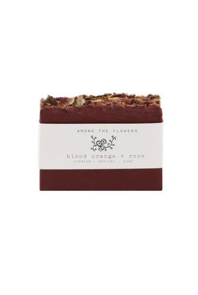 Cold Process Soap | Blood Orange & Rose