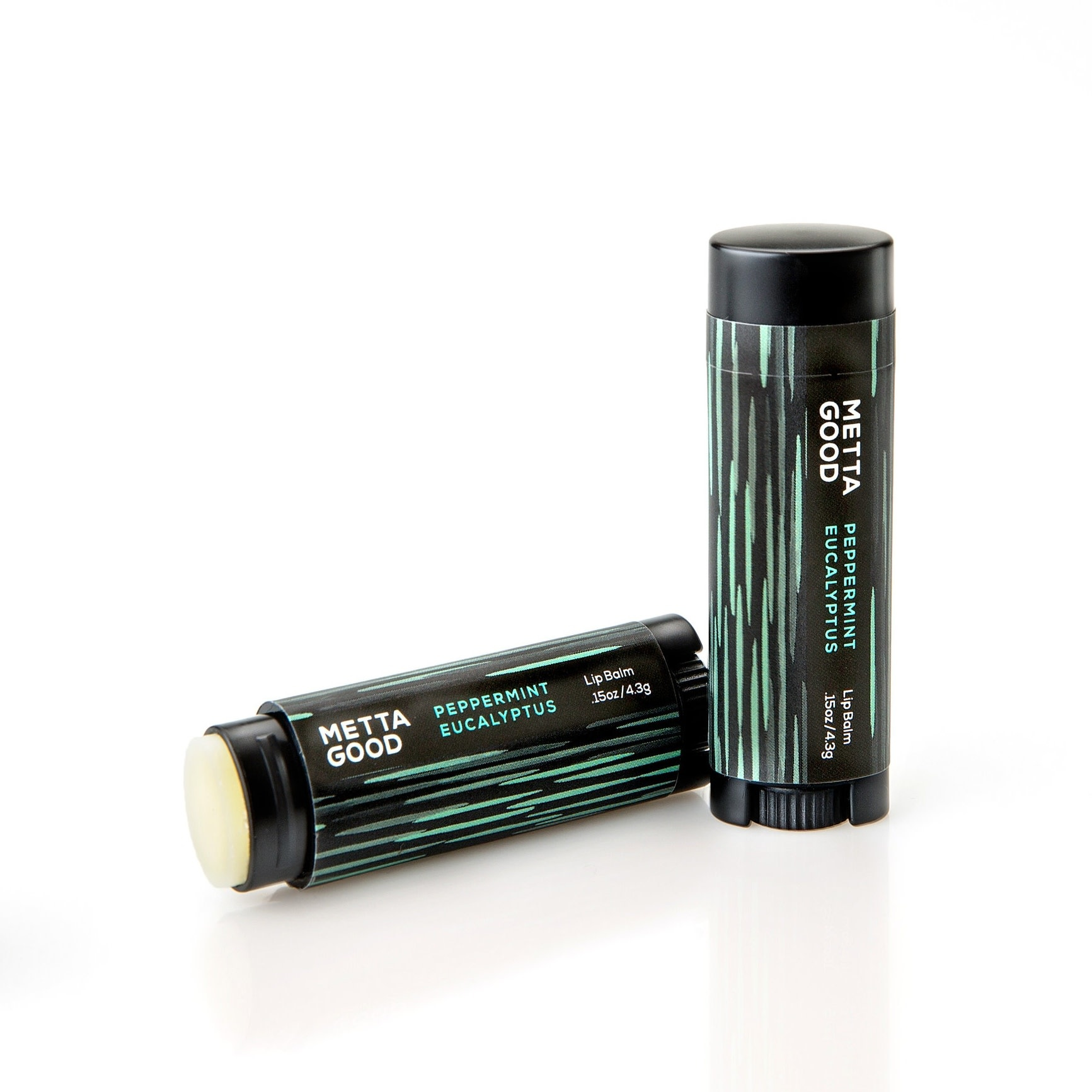 Metta Good Lip Balm | Peppermint Eucalyptus-3