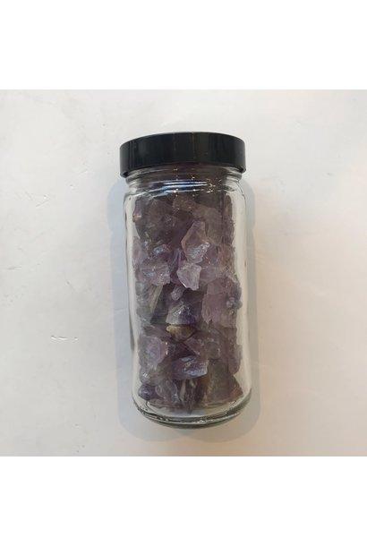 Amethyst Gravel Jar