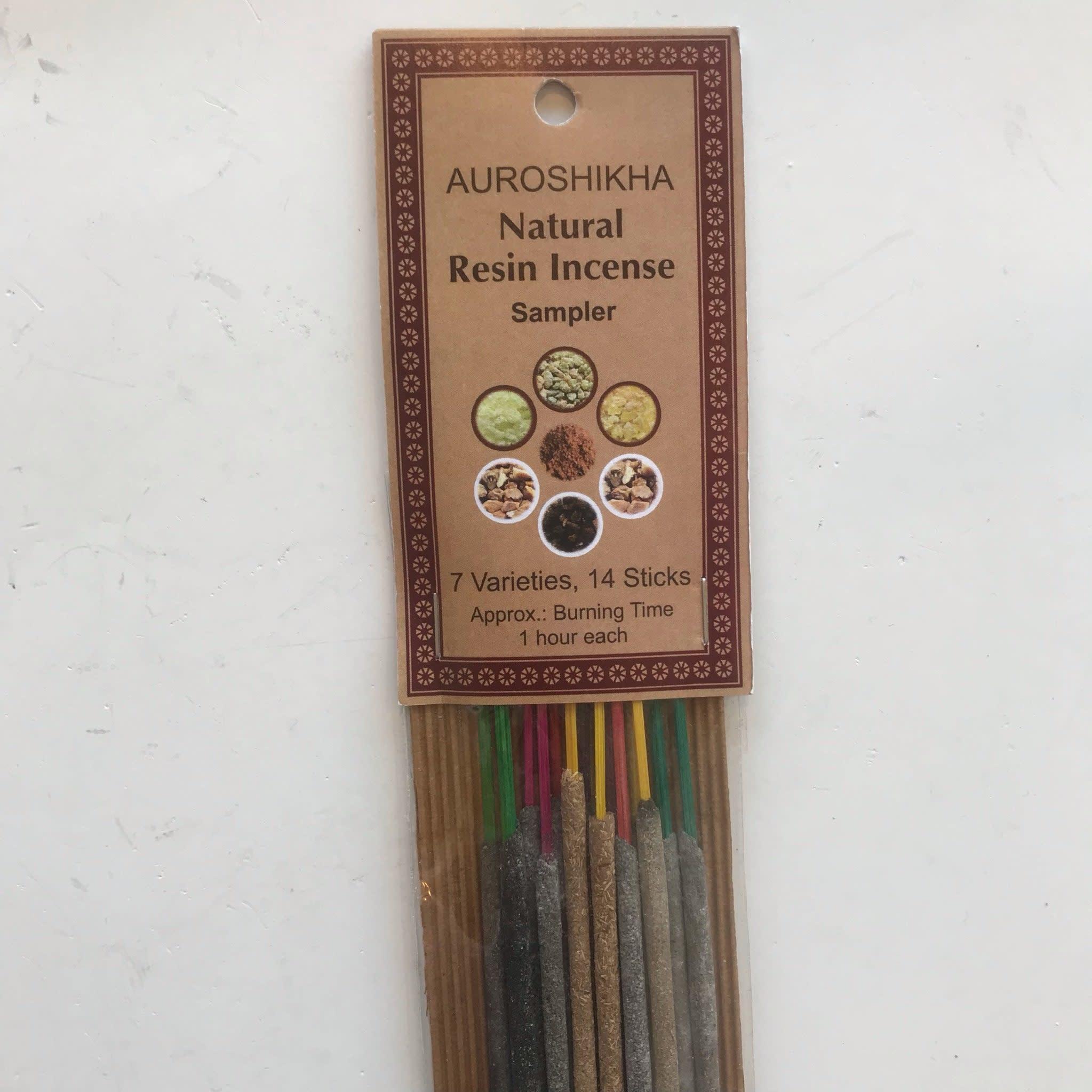 2104 - Auroshikha Incense - SAMPLER - 14 sticks-1