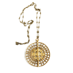 Necklace | Sundra Medallion-1