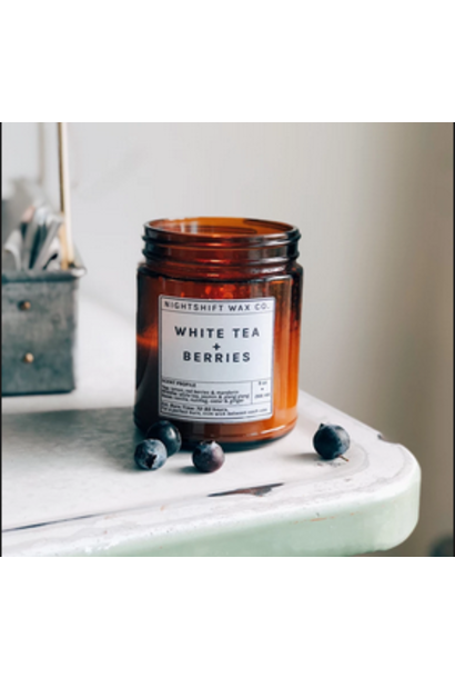 Soy Candle | White tea + Berries