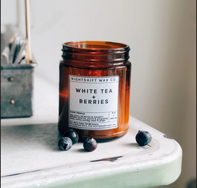 Soy Candle | White tea + Berries-1