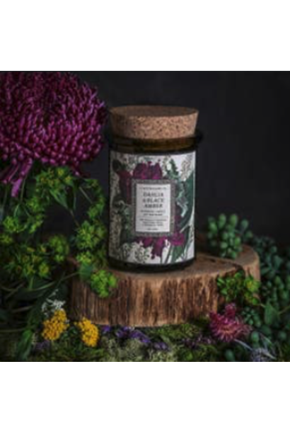 Botanica Candle | Dahlia & Black Amber