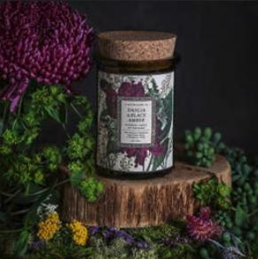 Botanica Candle | Dahlia & Black Amber-1