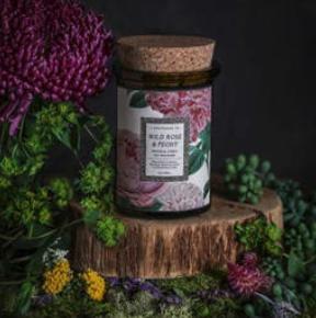 Botanica Candle   Wild Rose + Peony-1
