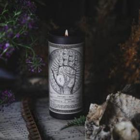 Noir Ritual Candle | Fortune + Fate-1