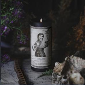 Noir Ritual Candle | Wisdom + Wonder-1