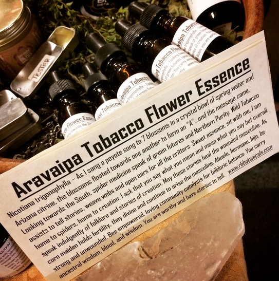 Aravaipa Tobacco Flower Essence-1