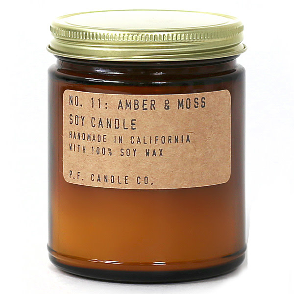Soy Candle | Amber & Moss-1