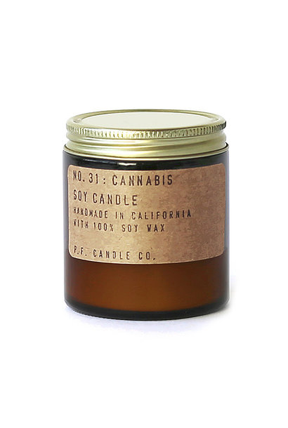 Soy Candle   Cannabis