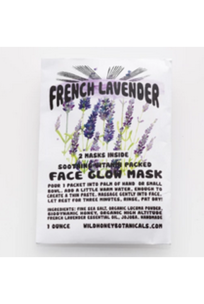 Face Glow Mask | French Lavender