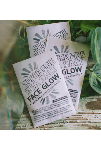 Face Glow Mask | Super Fine Sea Salt