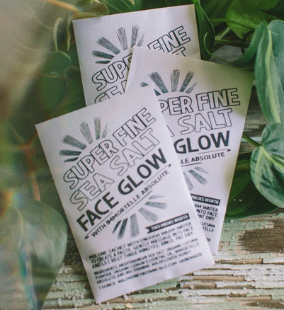 Face Glow Mask | Super Fine Sea Salt-1