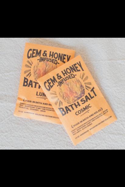 Gem & Honey Infused Bath Salts | Cosmic