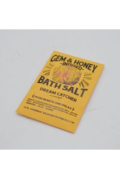 Gem & Honey Infused Bath Salts   Dream Catcher