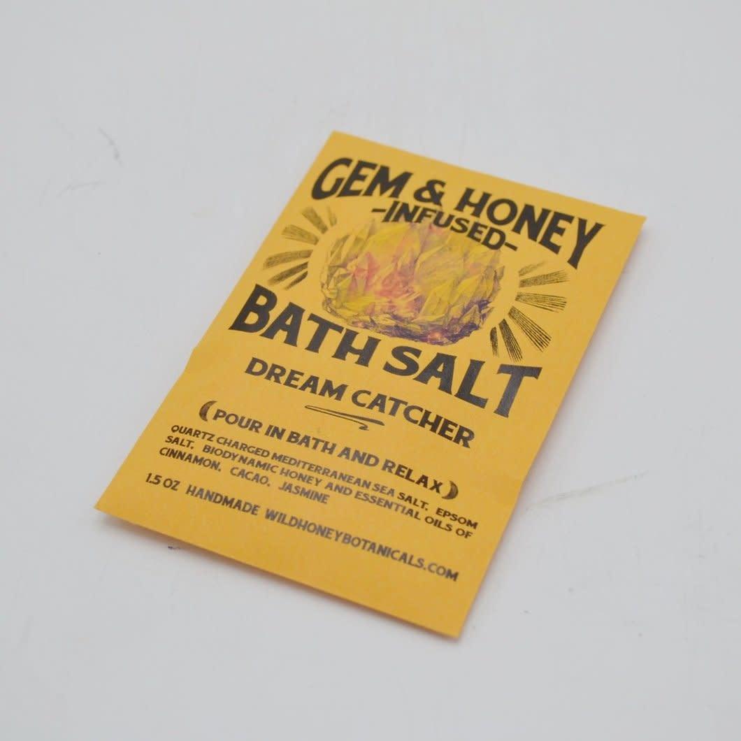 Gem & Honey Infused Bath Salts   Dream Catcher-1