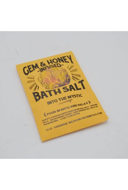 Gem & Honey Infused Bath Salts | Into The Mystic