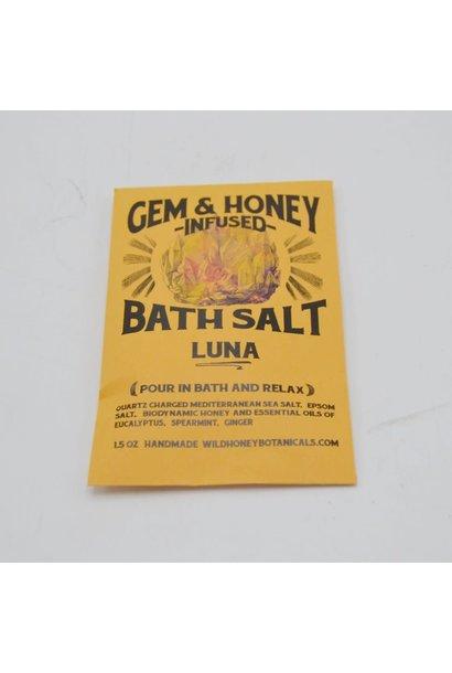 Gem & Honey Infused Bath Salts | Luna