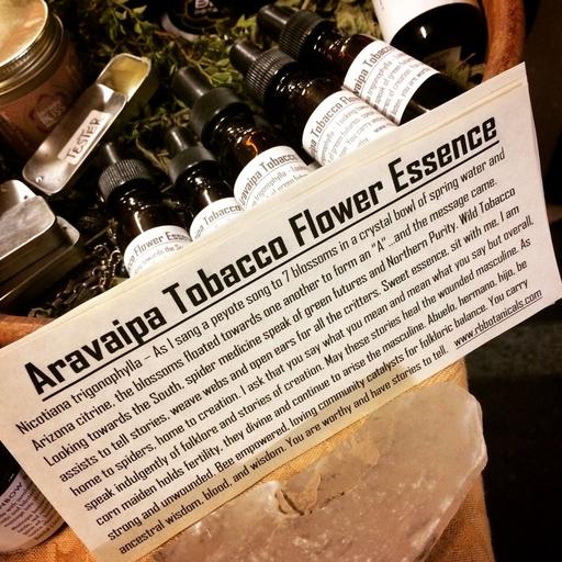 Aravaipa Tobacco Flower Essence-2