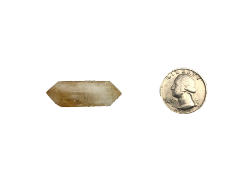 Double Terminated Citrine Points-2