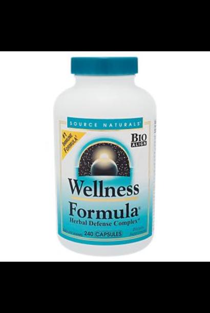 2443 - Wellness Formula - Source Naturals - 60 caps
