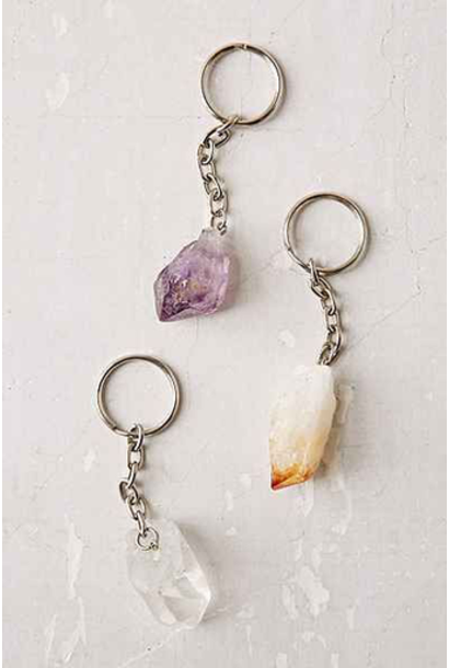 Key Chain | Assorted Crystal Point