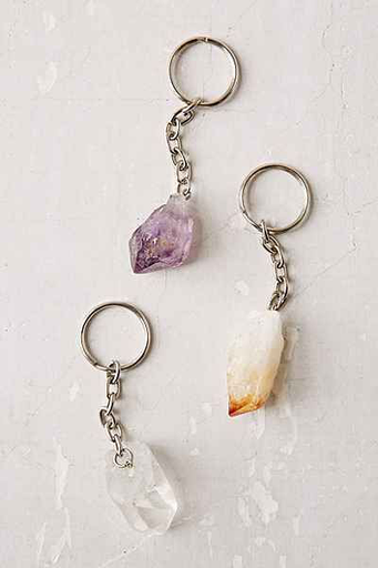 Key Chain | Assorted Crystal Point-1