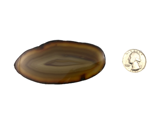 Natural Agate Slice | Small-1