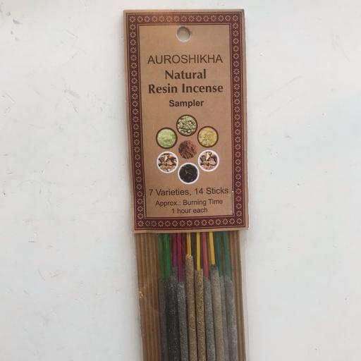 2104 - Auroshikha Incense - SAMPLER - 14 sticks-2