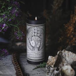 Noir Ritual Candle | Fortune + Fate-2