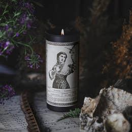 Noir Ritual Candle | Wisdom + Wonder-2