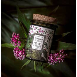 Botanica Candle | Tobacco Flower-2