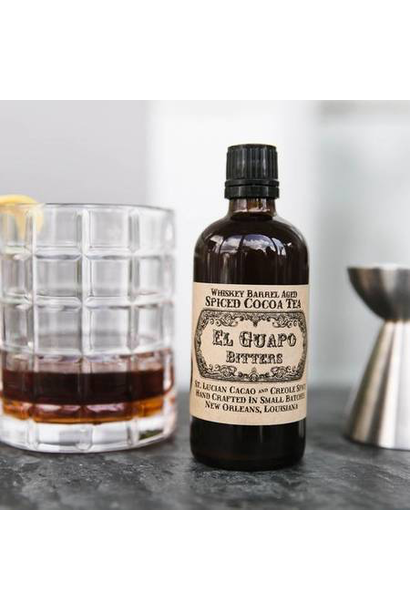 Spiced Cacao & Tea Bitters