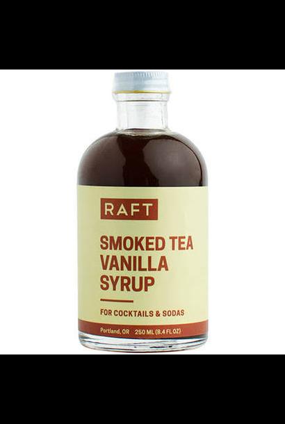 4082 - Smoked Tea Vanilla Syrup - w/ Lapsang Souchong & Dandelion Root - RAFT