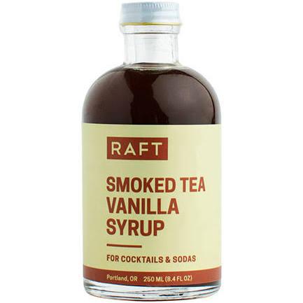 Smoked Tea Vanilla Syrup-1