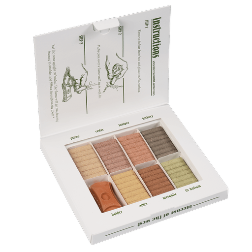 Natural Wood Incense | Seven Scent Sampler-1