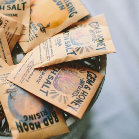 Gem & Honey Infused Bath Salts | Luna-2