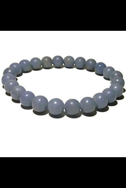 Tumbled Stone Bracelet | Angelite | 8mm