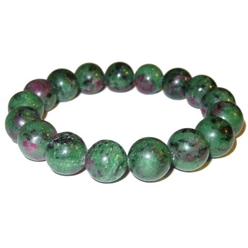 Tumbled Stone Bracelet | Ruby Zoisite | 8mm-1